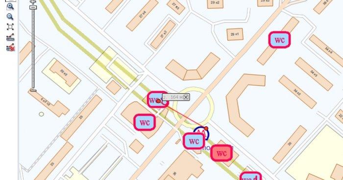 Туалеты в Москве, карта туалетов онлайн
