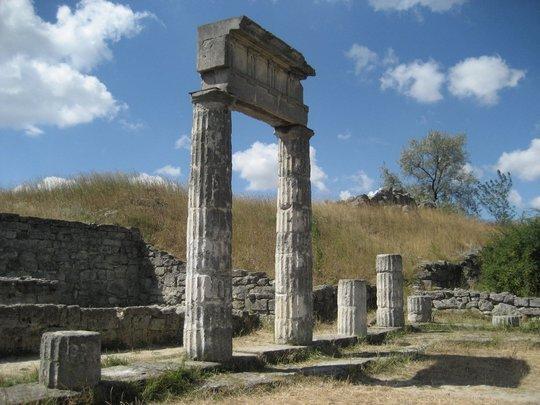 Первые Эвбейские колонии в Сицилии: Наксос, Катана и Леонтины