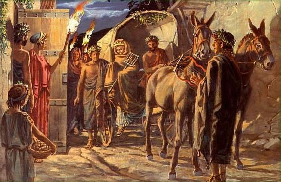 Правовые принципы регулирования брачных отношений в обществах древнего мира