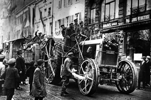 Роль США в восстановлении Германии после Первой Мировой войны
