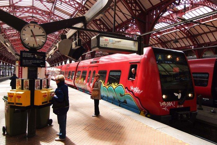 Современный «общественный дизайн» на железнодорожном транспорте Дании