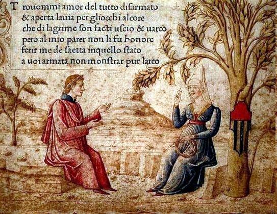 Зарождение петраркистской традиции в Италии XV века