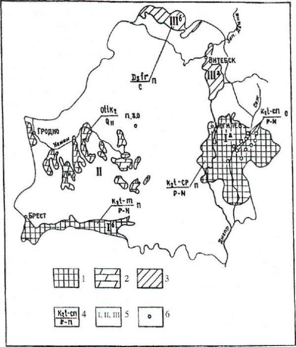 Типы и закономерности развития природных геологических процессов