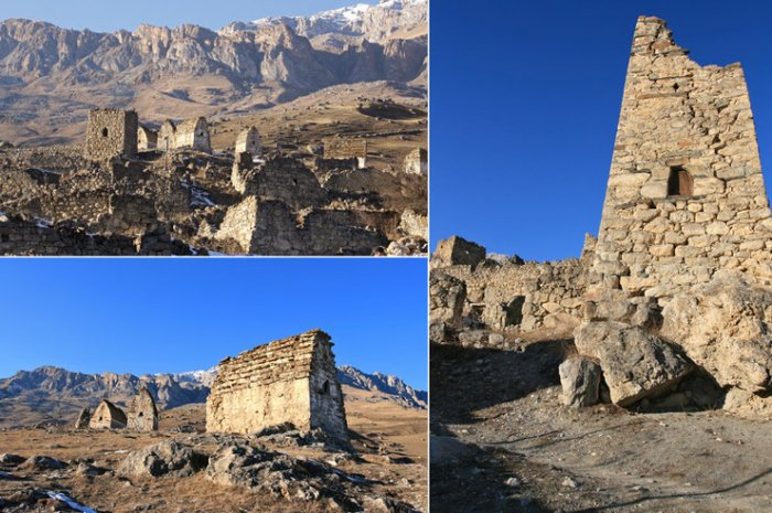 0 национальных архитектурных формах в размещении туристов в горах Северной Осетии. Часть 3