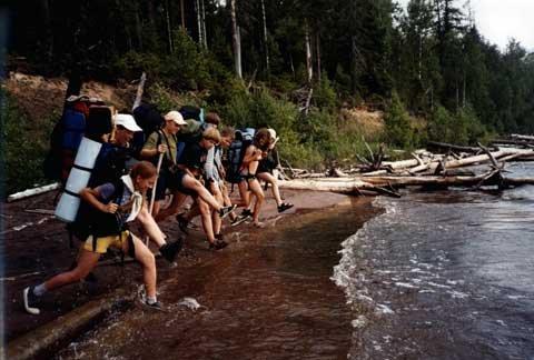 Походная жизнь в 1951 году: Дневник туристов. Часть 1