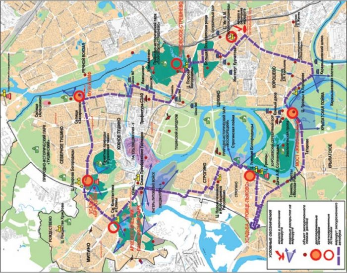 Создание туристско-рекреационных зон на Северо-Западе столицы. Часть 6