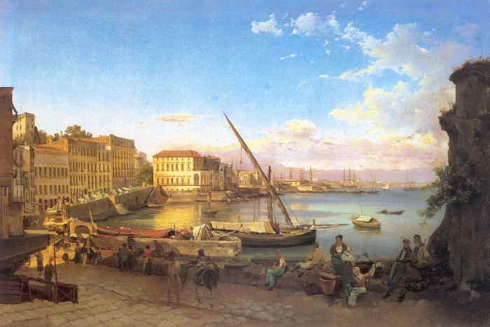 Живописная репрезентация городов Италии в отечественном искусстве XVIII — н ...