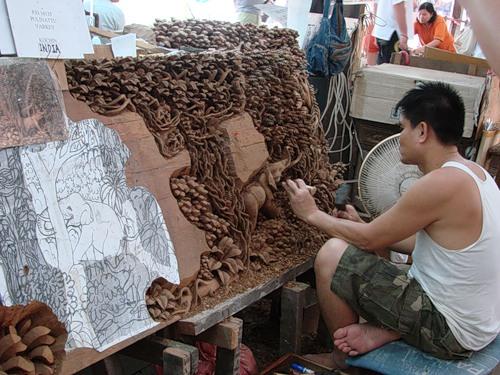 Изделия из дерева Тайланд