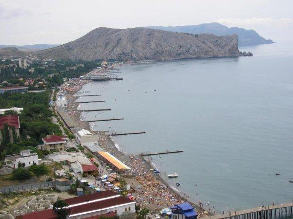 Интересный отдых на берегу Чёрного моря