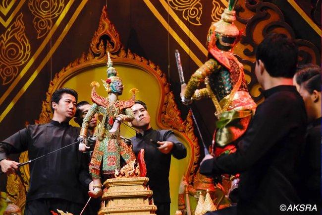 Куклы марионетки в Тайланде