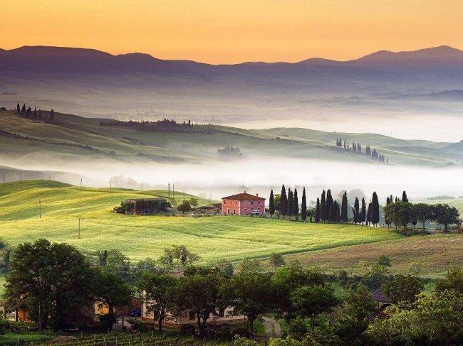 Тоскана - удивительный регион в Италии