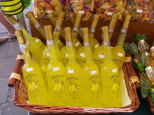 Лимончелло - алкогольная настойка на цедре лимона