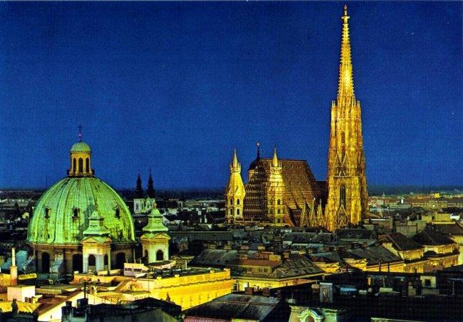 Путешествия по Европе: достопримечательности Вены