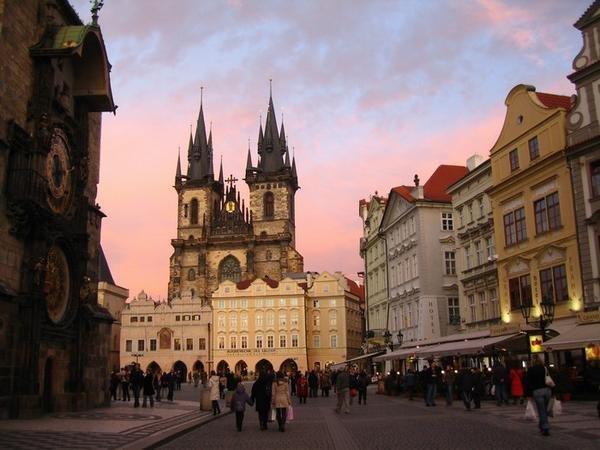 Прага - средневековая сказка