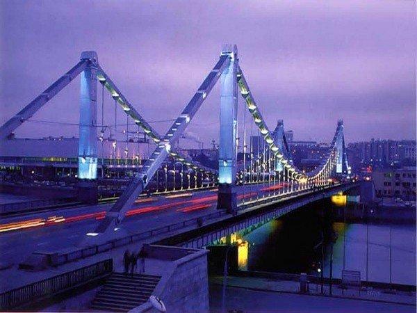 Самые интересные мосты Москвы
