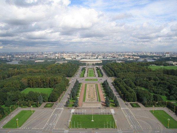 Достопримечательности Москвы: Воробьевы горы