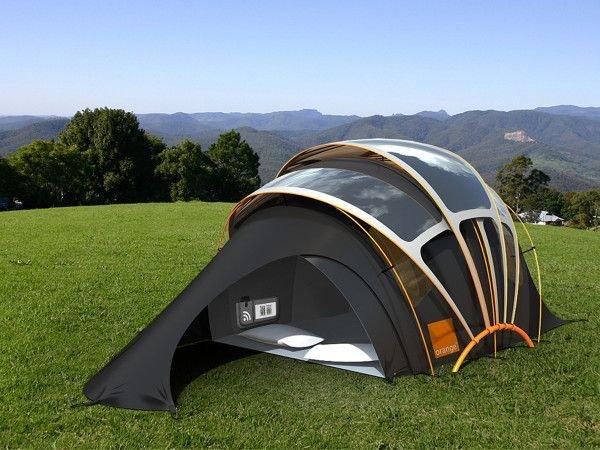 Выбор палатки для путешествий