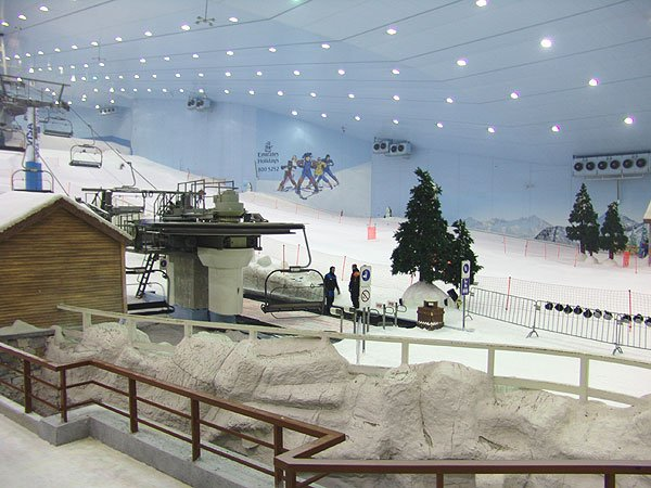 Ski Dubai — возможность горнолыжного отдыха в ОАЭ