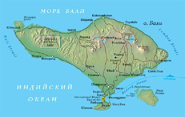 Ночные клубы Бали