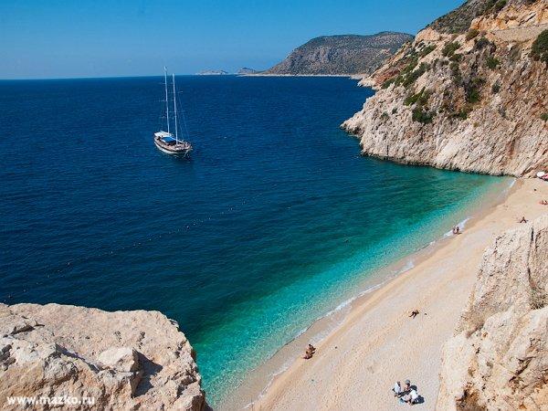 Отдых на лучших пляжах Турции