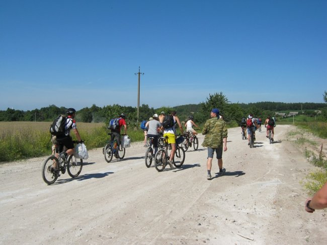Особенности сбора в велопоход