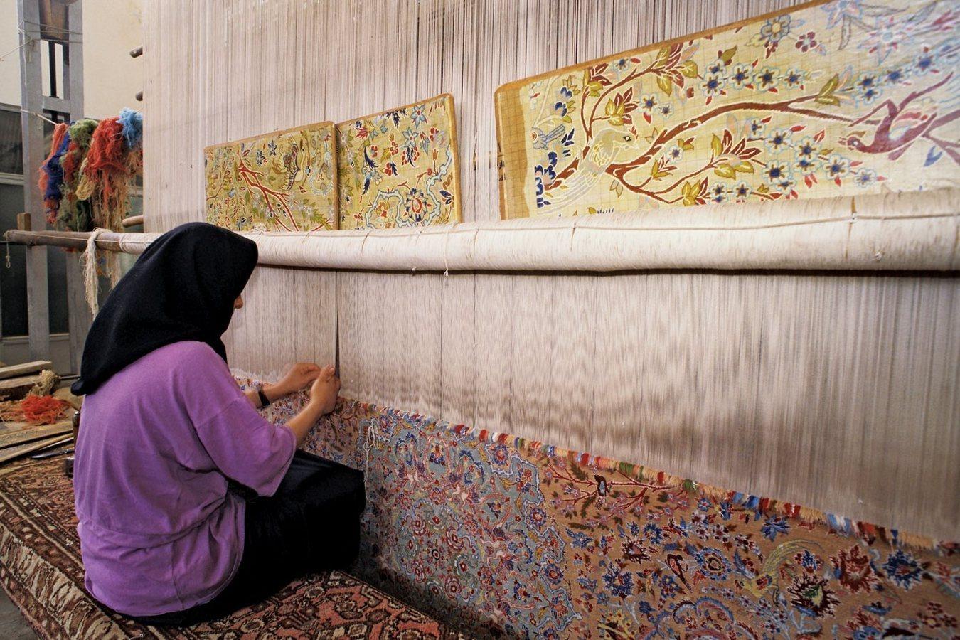 Ковры ручной работы ирана