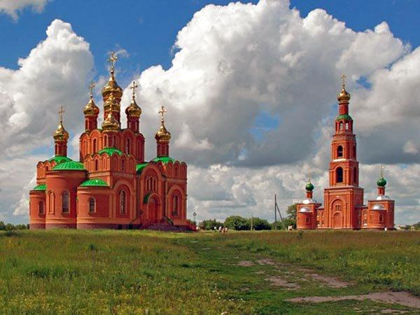 Ачаирский монастырь –жемчужина Омска