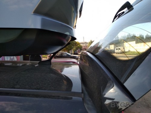Обзор автобокса Thule motion XT M на крышу хэтчбека Kia Ceed