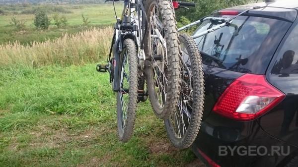 Обзор велобагажника на заднюю дверь Thule ClipOn 9103 для 3 велосипедов