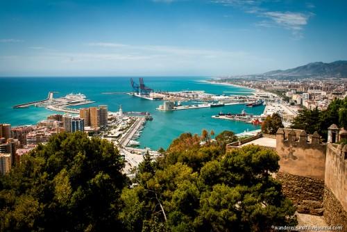 Гид по главным достопримечательностям Малаги (Испания) с картой