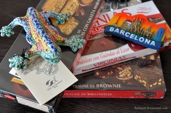 Какие сувениры и подарки привезти из Барселоны?