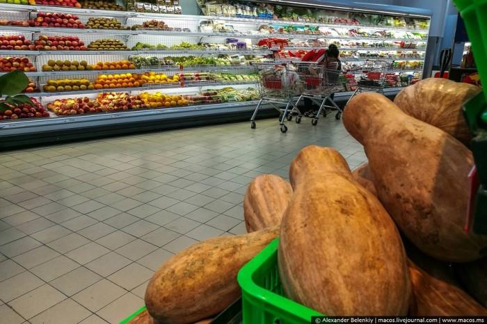 Цены на еду и одежду в супермаркетах Вьетнама в 2019 году