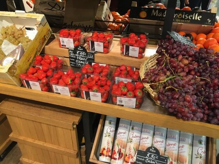 Обзор цен на еду в супермаркетах Парижа