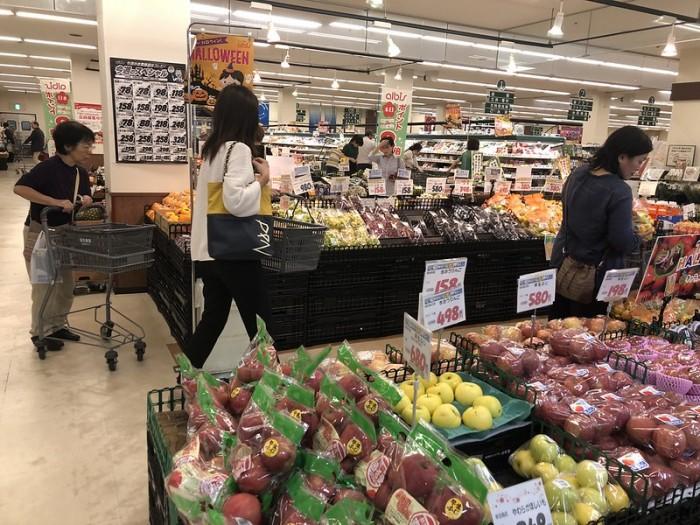 Цены на продукты в Японии